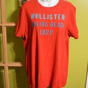 XL Hollister red tshirt